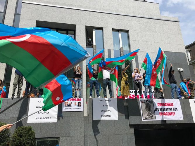 Unprecedented attack on a diplomatic mission of Azerbaijan in Europe- EUROPTER