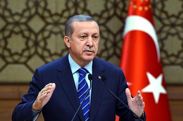 Erdogan bekräftigt seine Unterstützung für Aserbaidschan