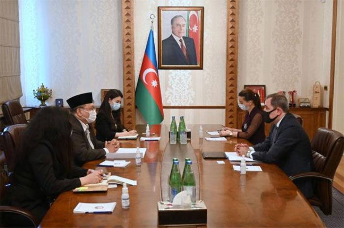 Indonesian ambassador to Azerbaijan completes diplomatic tenure