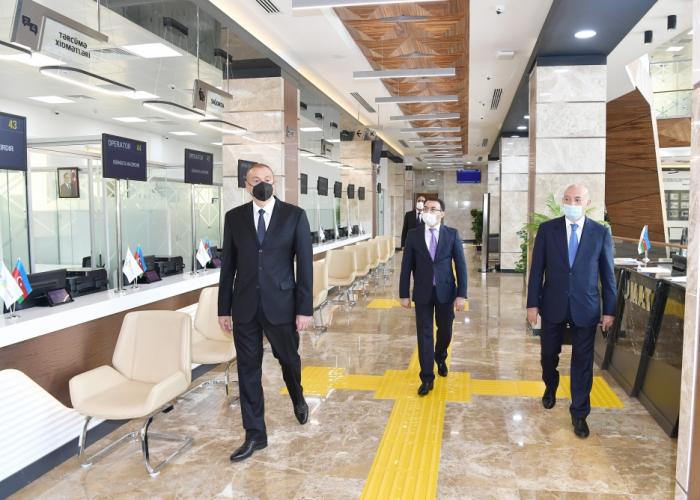 """Balakən regional """"ASAN xidmət"""" mərkəzinin açılışı olub -  FOTOLAR (YENİLƏNİB)"""
