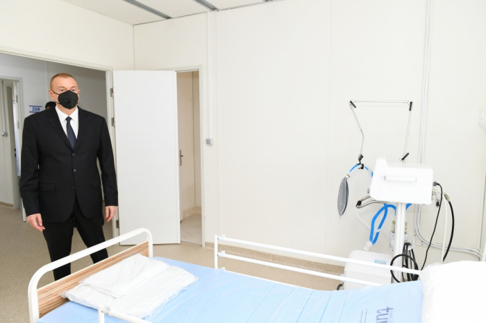 President Ilham Aliyev attends openings in Shaki - UPDATED
