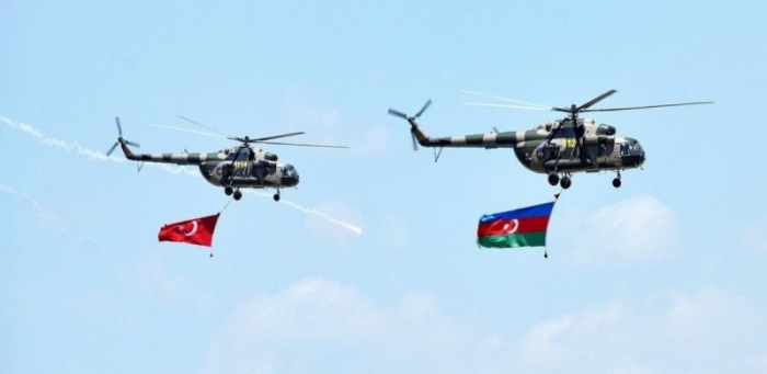 Azerbaijan, Turkey launch large-scale joint military drills