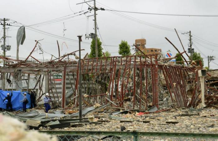 1 dead, 18 injured in blastin Fukushima