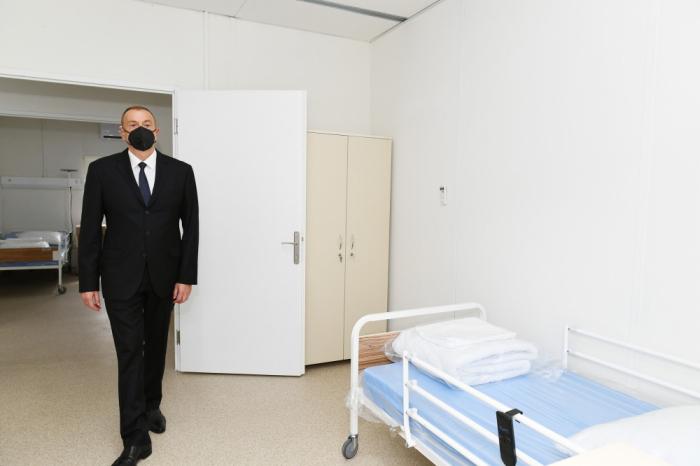 President Ilham Aliyev attends openings in Gabala - UPDATED