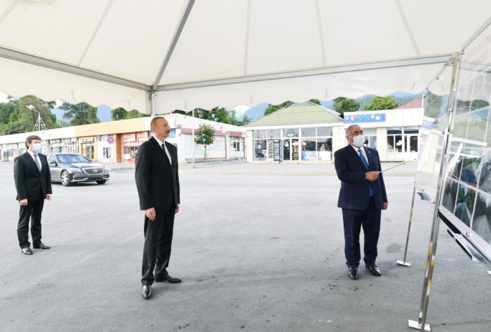 Əmirvan-Vəndam yolu yenidən quruldu -  FOTOLAR