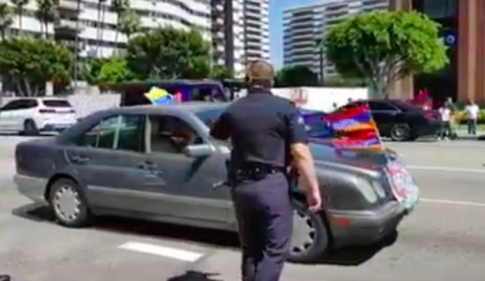 Los Angeles Police expose Armenian lies
