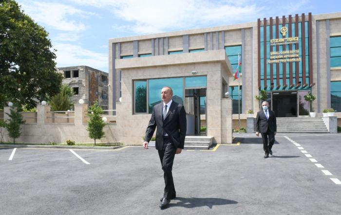 """""""Azərişıq"""" ASC-nin Balakəndə mərkəzi istifadəyə verildi -  FOTOLAR"""