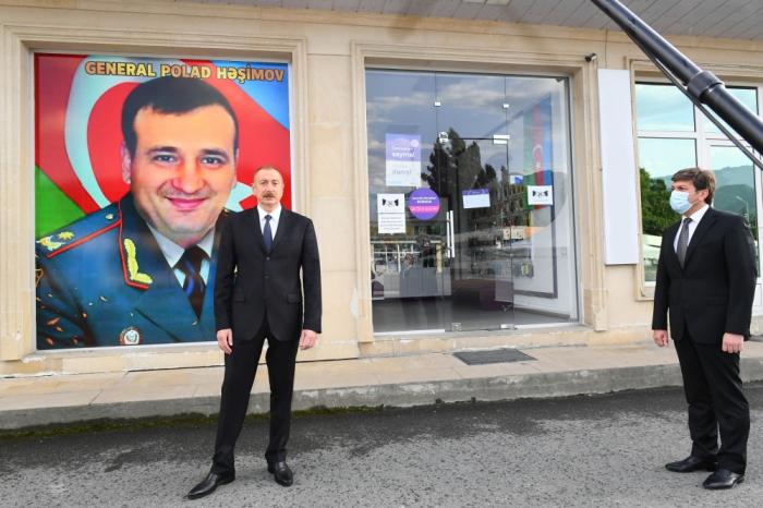 Le président Ilham Aliyev a donné des instructions concernant le général Polad Hachimov