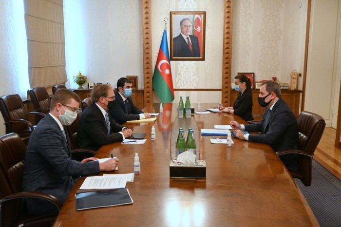 Azerbaijani FM, US Ambassador discuss Armenian provocation