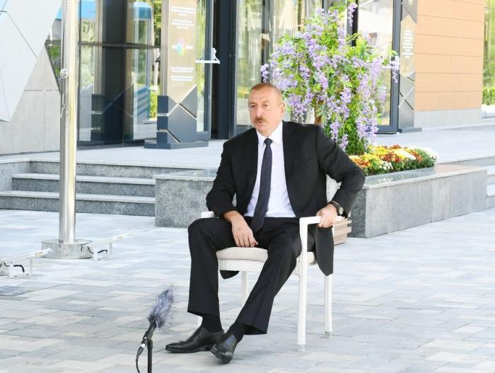 Ilham Aliyev:  «Le Haut-Karabagh est notre terre historique»