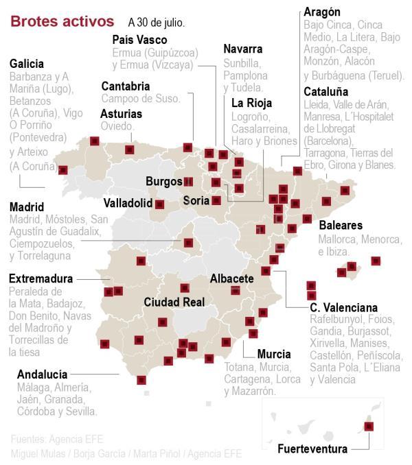Los contagios por coronavirus siguen subiendo en España