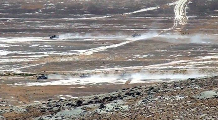 Aserbaidschanisch-türkischer Übungen fangen an   - VIDEO