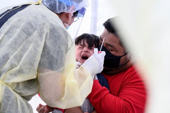 Pandémie: les enfants de moins de cinq ans pourraient être extrêmement contagieux
