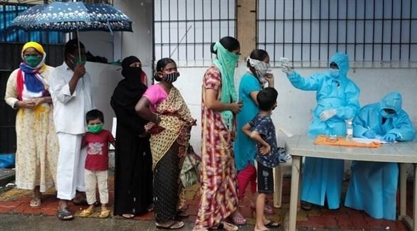الهند تسجل إصابات يومية قياسية بفيروس كورونا