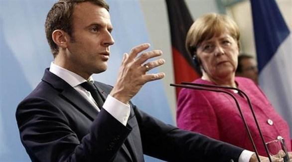 ميركل وماكرون يعتزمان حل النزاع في غرب البلقان