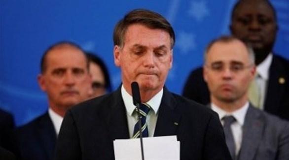 فيس بوك يلغي حسابات مضللة لمستشاري الرئيس البرازيلي بولسونارو