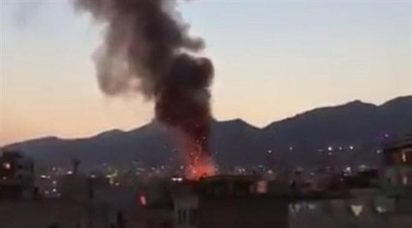 انفجار مبنى سكني في طهران