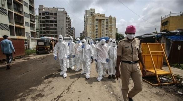 عدد حالات الاصابة بكورونا في الهند يقترب من 850 ألفاً