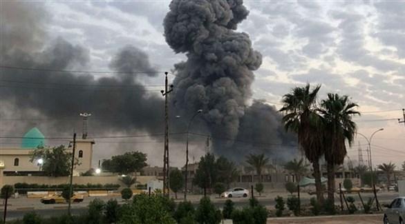 مطار بغداد ^ستهدف بقذيفتين