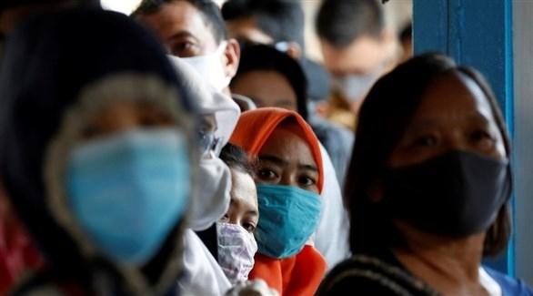2040 إصابة جديدة بكورونا في إندونيسيا