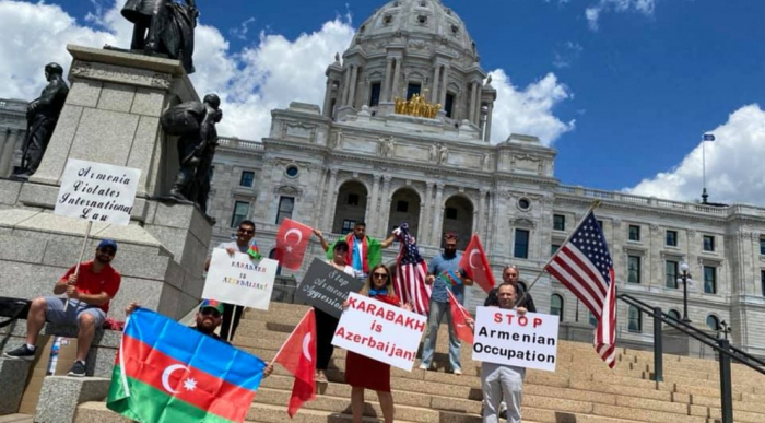Rally held in Minnesota against Armenian military provocations