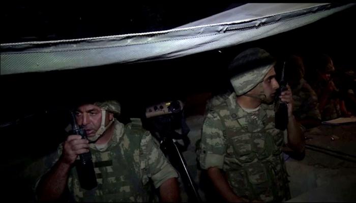Nachttrainings fanden in der Frontzone statt -   VIDEO
