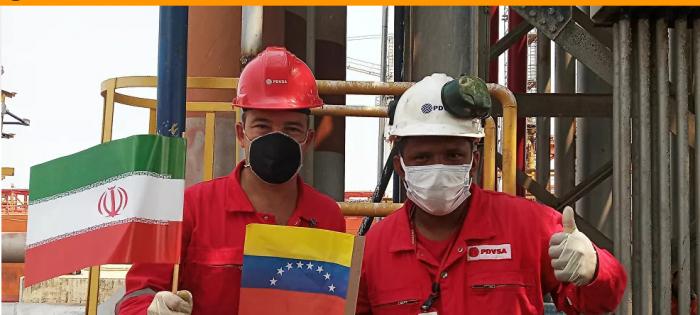 في ظل العقوبات الأمريكية تعاون إيران و فنزويلي