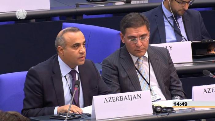 الجمعية البرلمانية لمنظمة الأمن والتعاون في أوروبا تعتمد على قرارًا مؤلفه أزاي جولييف