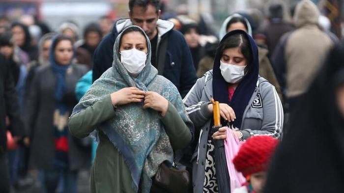 İranda daha 2449 nəfər koronavirusa yoluxub