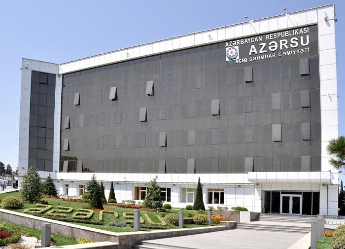 """""""Təlaşa səbəb yoxdur, yetərincə su ehtiyatlarımız var"""" -    AÇIQLAMA"""