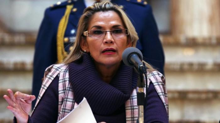 Boliviens Präsidentin Añez mit Coronavirus infiziert
