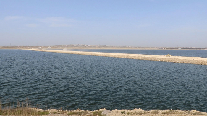 Böyük Şor gölünün təmizlənməsinə başlanıldı