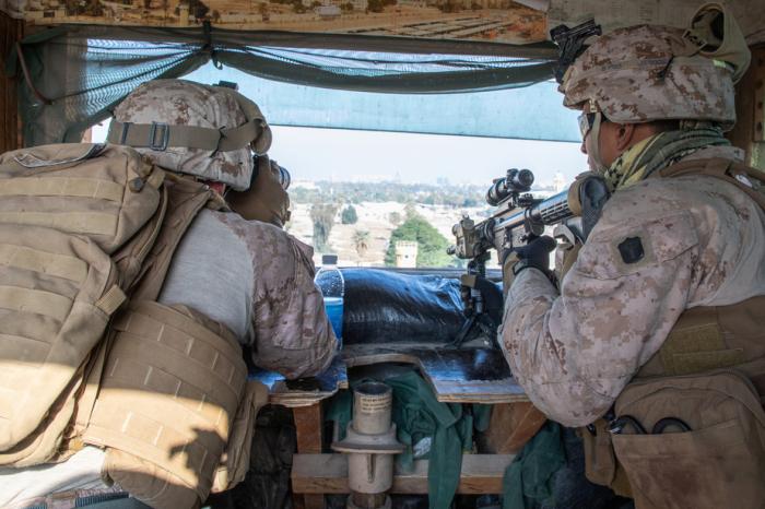 Irak:   Deuxième attaque à la roquette contre des intérêts américains en 24 heures