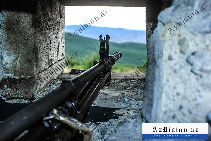 Düşmən atəşkəs rejimini 43 dəfə pozdu