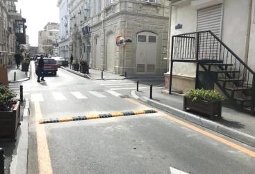 Se han tomado medidas de seguridad en un cruce de carreteras problemático en Bakú