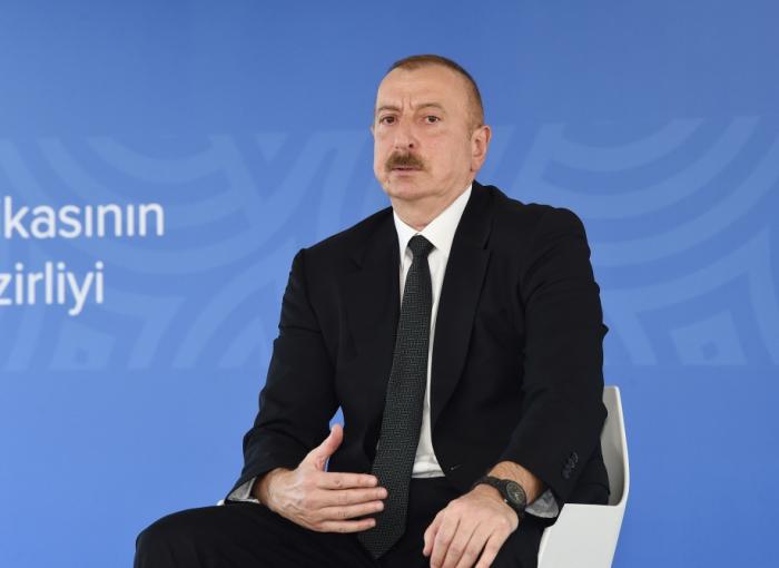 Ilham Aliyev: Las videoconferencias de los titulares de Exteriores de Armenia y Azerbaiyán no tienen mayor importancia