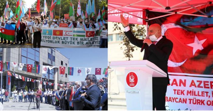 Türkiyədə Azərbaycana dəstək aksiyaları