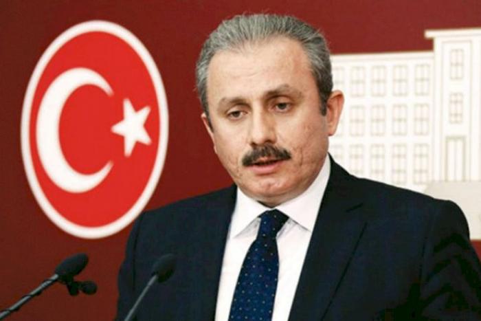 Mustafa Şentop yenidən parlament sədri seçildi