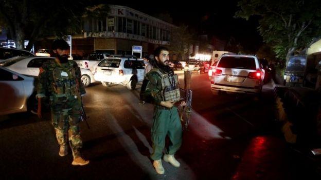 Car blast killed at least 17 in Afghanistan