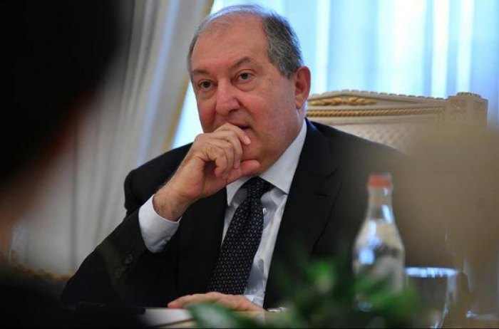 Ermənistan prezidenti Qarabağa gəldi