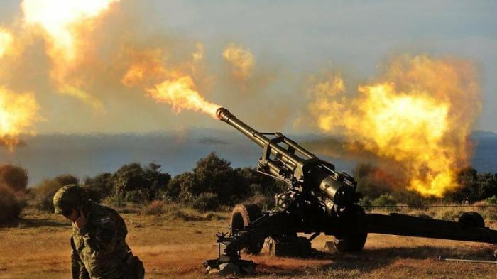 Yaşayış məntəqələri yenidən artilleriya atəşinə tutuldu