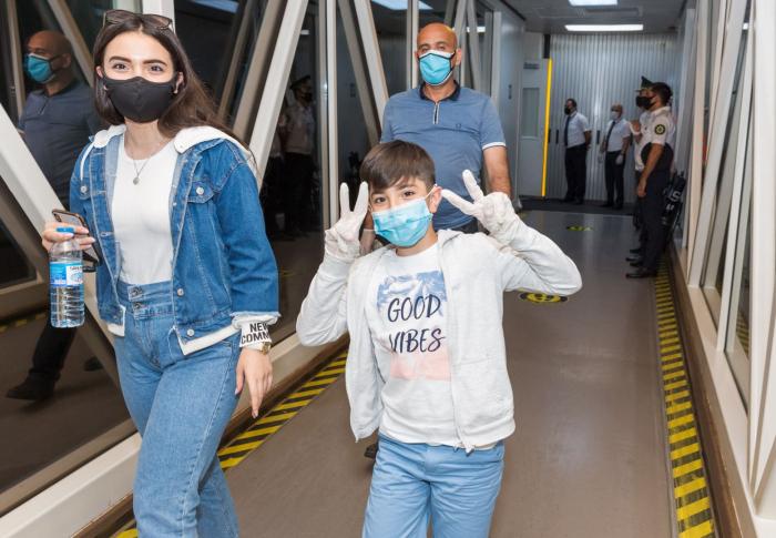 رحلة مستأجرة من كييف تنقل 189 مواطنا اذربيجانيا الى الوطن