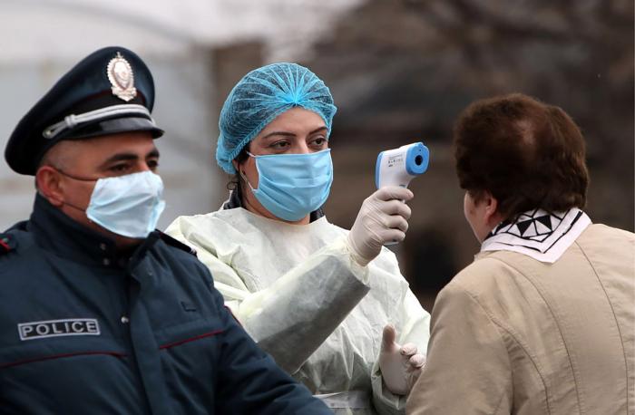 Ermənistanda bir gündə 593 nəfər koronavirusa yoluxdu