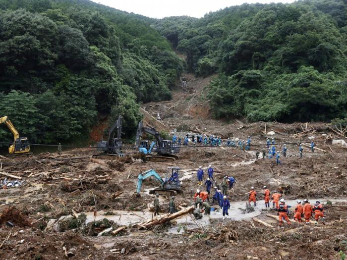 Japon: Le bilan des inondations s