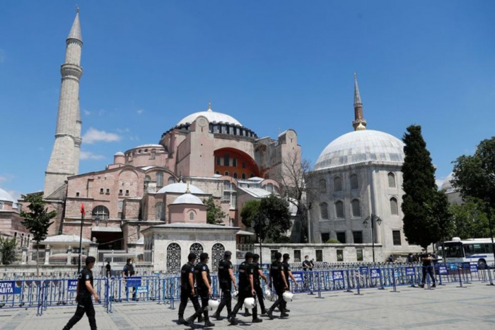 Turkey will inform UNESCO about Hagia Sophia moves - minister