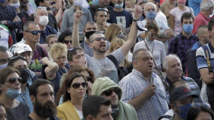 Erneut regierungskritische Proteste in Sofia
