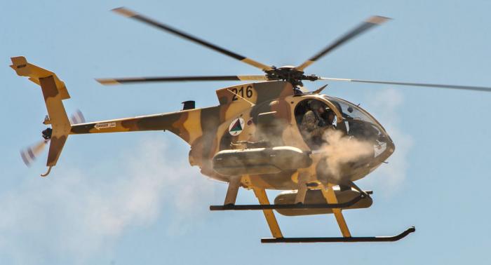 Əfqanıstanda təlim helikopteri qəzaya düşdü