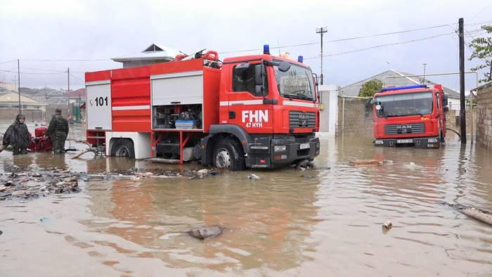 Güclü yağış rayonlarda fəsadlar törətdi
