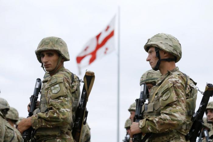 NATO-nun əməliyyatına qoşulan gürcü hərbçilər virusa yoluxdu