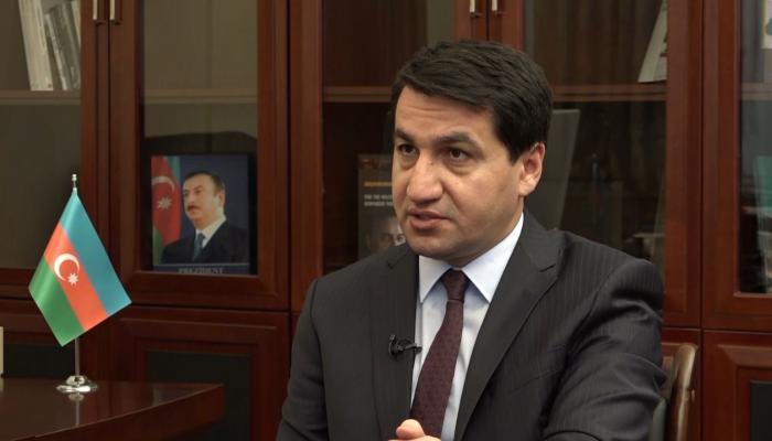 """""""Ermənistanın addımları qəti şəkildə pislənilməlidir"""" -   Prezidentin köməkçisi"""